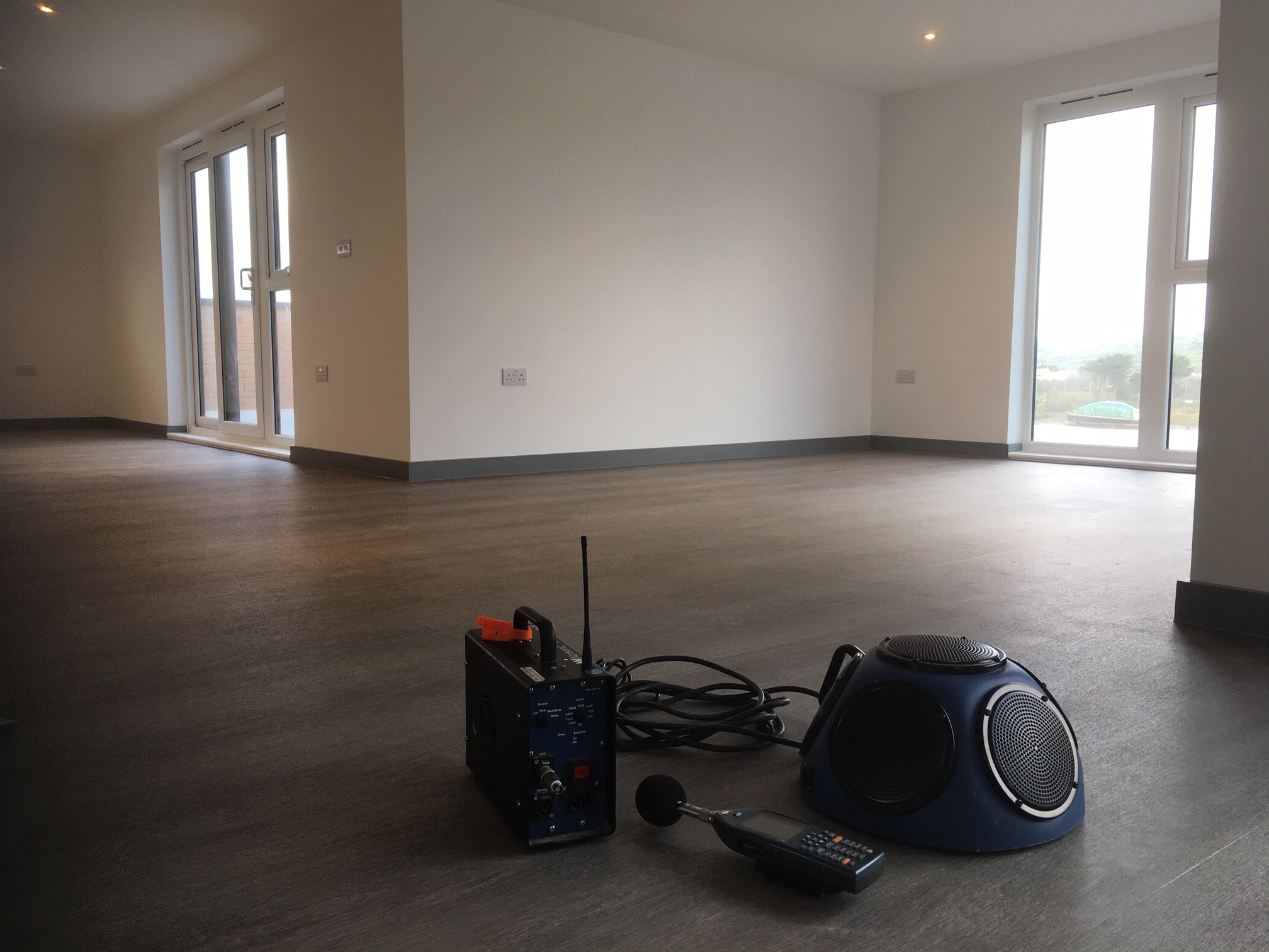 Sound testing in Barnstaple